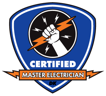 Certified Master Electrician badge - DK Electrical Solutions Inc.