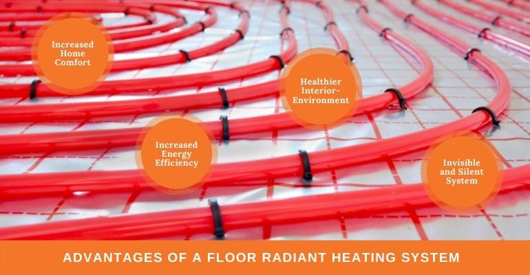 Advantages of Radiant Floor Heating for Your House in New Jersey