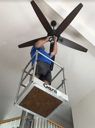 http://Installing%20a%20Ceiling%20Fan%20-%20DK%20Electrical%20Services%20Inc.