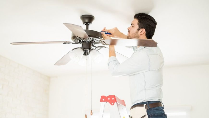 Fan Installation and Repair in New-Jersey - DK Electrical Solutions