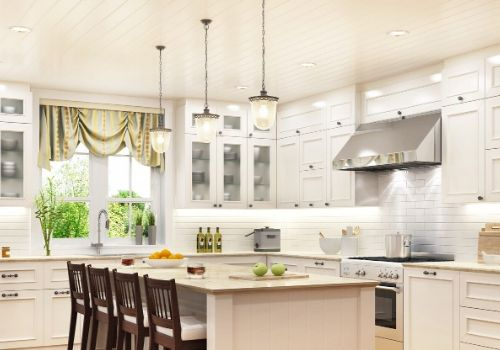 Kitchen with fabulous lighting - Electrician in Southampton, NJ